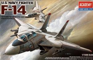 Academy 12608 F-14 U.S. Navy Fighter