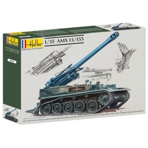 Heller 81151 Działo samobieżne AMX 13/155 - 1:35