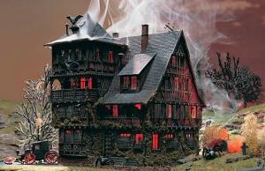 Vollmer 43679 Dom Wampira z oświetleniem