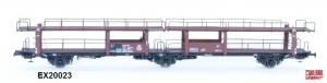 Exact-Train EX20023 Wagon do transportu samochodów Offs 55, 631 718, DB, Ep. III