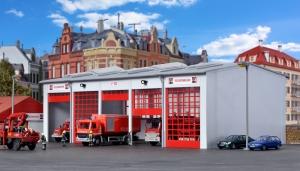 Kibri 39219 H0 Garaż dla pojazdów straży pożarnej