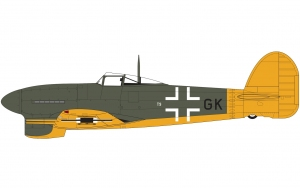 Airfix A19003A Hawker Typhoon 1B - Car Door + kalki Luftwaffe - 1:24