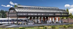 Kibri 39568 Dworzec Kienbach - hala peronowa