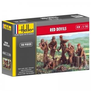 Heller 81222 Figurki - Red Devils - 1:35