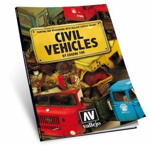 Vallejo 75012 Książka Civil Vehicles by Eugene Tur