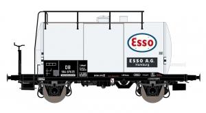 Exact-Train EX20607 Wagon cysterna 30m3 Uerdinger, 584 876 Esso, DB, Ep. IIIb
