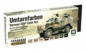 Vallejo 71159 Zestaw Model Air 8 farb - German ISAF Colors