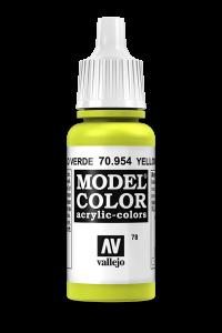 Vallejo 70954 Model Color 70954 78 Yellow Green