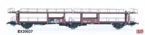 Exact-Train EX20027 Wagon do transportu samochodów Offs 55, 631 410 ABC Raster, DB, Ep. III