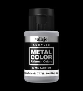 Vallejo 77716 Metal Color 77716 Semi Matte Aluminium