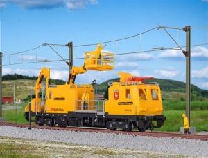 Kibri 16082 Pociąg pogotowia sieciowego P&T MTW 100.083/1