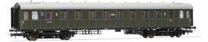 Rivarossi HRS4278 Wagon pasażerski 2 kl. PKP 19433 serii Bhxz (ex C4ü-26a), st. Białystok, Ep. IIIc