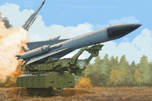 Trumpeter 09550 Rakieta 5V28 na wyrzutni 5P72 SAM-5 Gammon - 1:35