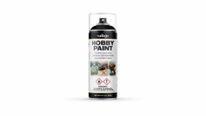 Vallejo 28012 Spray 400 ml Basic Black