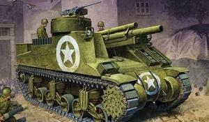 M7 105mm SPG Priest, 1:35