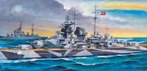 Academy 14211 Pancernik Tirpitz