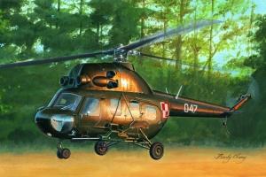 Hobby Boss 87242 Helikopter MI-2US Hoplite gunship (polskie malowanie) - 1:72