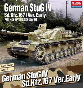 Academy 13522 StuG IV Sd.Kfz.167 (early) 1:35