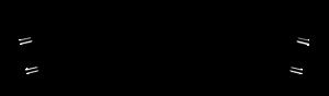 Hornby R606 Tor łukowy R2, R438 mm, 22,5st.
