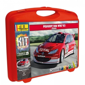 Heller 60113 Constructor Kit - Peugeot 206 WRC 2003 - 1:43