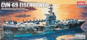 Academy 14212 CVN-69 USS Eisenhower