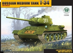 Academy 13306 Czołg T-34 - 1:48