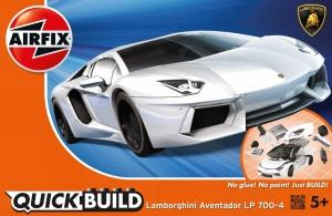 Airfix J6019 Quickbuild - Lamborghini Aventador LP700-4 White