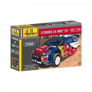 Heller 80117 Citroen C4 WRC 2010 - 1:43