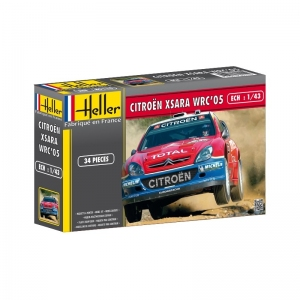 Heller 80114 Citroen Xsara WRC 2005 - 1:43