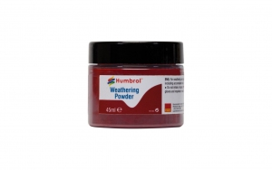 Humbrol AV0016 Pigment Weathering Powder 45 ml Iron Oxide