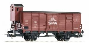 Piko 54703 Wagon towarowy kryty SPA, B, Ep. III