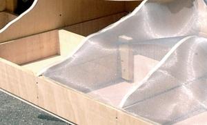 Heki 3107 Siatka konstrukcyjna aluminiowa 100x80 cm