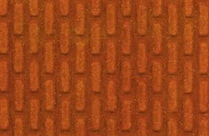 Heki 70612 Mur z czerwonej cegły, wnętrze tunelu 0/1 50x25 cm
