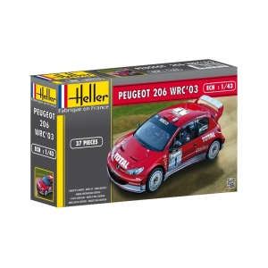 Heller 80113 Peugeot 206 WRC 2003 - 1:43
