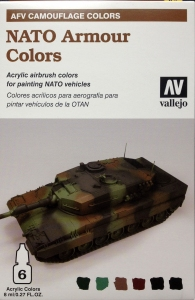 Vallejo 78413 AFV Camouflage System: NATO Armour Colors