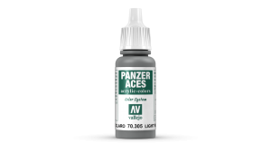 Vallejo 70305 Panzer Aces 70305 Light Rubber