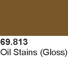 Vallejo 69813 Mecha Color 69813 Oil Stains (Gloss)