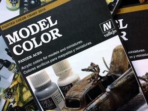 Vallejo CC970 Wzornik kolorów Vallejo Model Color