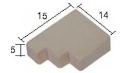 Aedes Ars 2228 Wspornik kamienny duży 50 szt.