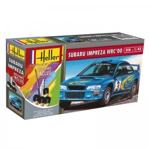 Heller 56194 Starter Set - Subaru Impreza WRC 2000 - 1:43