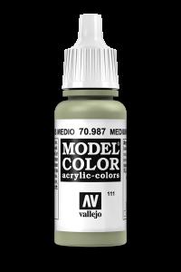 Vallejo 70987 Model Color 70987 111 Medium Grey