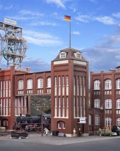 Kibri 39847 Kopalnia Herbede - budynek administracji z łącznikiem