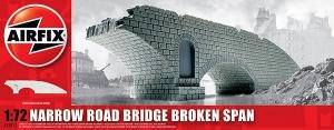 Airfix A75012 Ruiny budynku WWII - Fragment mostu - 1:72