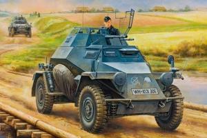 Hobby Boss 80149 German Leichter Panzerspahwagen (2cm) Mid Version - 1:35