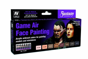 Vallejo 72865 Zestaw Game Air 8 farb - Face Painting