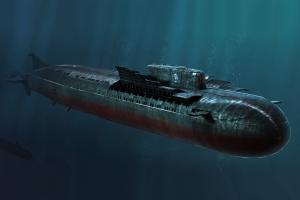 Hobby Boss 83521 Okręt podwodny K-141 Kursk klasy Oscar II - 1:350