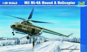 Trumpeter 05101 Helikopter MI-4A HOUND A - 1:35