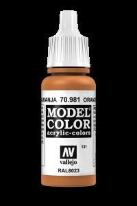 Vallejo 70981 Model Color 70981 131 Orange Brown