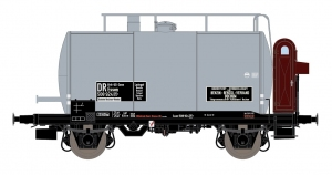 Exact-Train EX20600 Wagon cysterna 30m3 Uerdinger, Brit-US Zone, Benzin-Benzol-Vertrieb Bochum, DR, Ep. IIIa