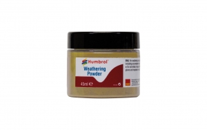 Humbrol AV0013 Pigment Weathering Powder 45 ml Sand